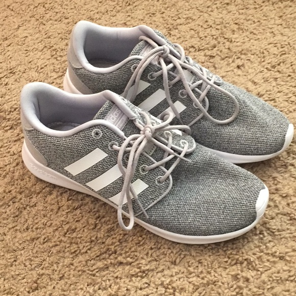 adidas schuhe cloudfoam athletic gray 75 poshmark